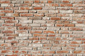 Background of old brick wall — Stock Photo