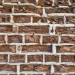 Background of old vintage crumbling brick wall  — Stock Photo