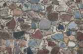 Background of granite stone wall texture — Stock Photo