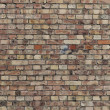 Stock Photo: Background of old vintage brick wall close up