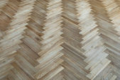 "Old parquet with the pattern ""fir-tree"" — Stock Photo"