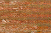 Background of old vintage red brick wall — Stock Photo