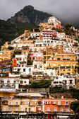 Cliff side houses in Positano, Italy — Stock Photo