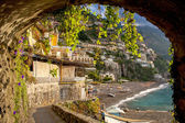 Archway in Positano — Stock Photo