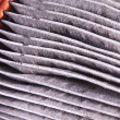 Dirty Air Filter — Stock Photo