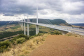 Millau Bridge — Stock Photo