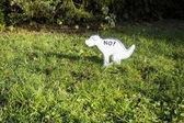 No Pooping — Stock Photo