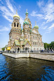 Church of the Spilled Bood, St Petersburg, Russia — Stock Photo