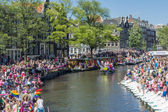 Gay Pride Amsterdam August 2013 — Stock Photo