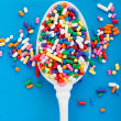 Stylized Sprinkles — Stock Photo