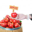 Stock Photo: Buying Apples