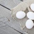 Rustic Egg Styling - Stock Photo