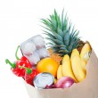 Bagged Groceries — Stock Photo