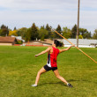 Stock Photo: Javelin Throwing
