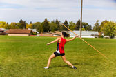 Javelin Throwing — 图库照片