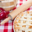 All American Apple Pie — Stock Photo
