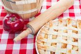 All American Apple Pie — Stock Photo