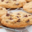 Foto Stock: Chocolate Chip Cookies