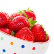 Fresh Juicy Strawberries — Foto Stock