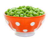Fresh Peas in a Bowl — Stock Photo