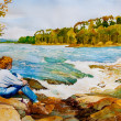 Otter Rapids - Stock Photo