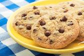 Homemade Chocolate Chip Cookies — Stock Photo
