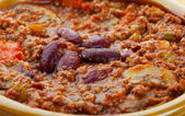 Chili Con Carne Macro — Stock Photo