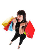 Happy Shopper — Stock fotografie
