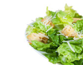 Side of Caesar Salad with Clipping Path — Stock Photo