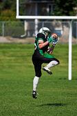 American football speler — Stockfoto