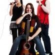 Stock Photo: Musical Trio