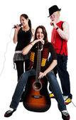 Musical Trio — Stock Photo