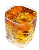 Whiskey with Clipping Path — Stock Photo