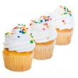Cupcakes in a Row — Stock Photo