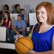 Stock Photo: Female Basketball Player