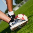 Stock Photo: Soccer Feet