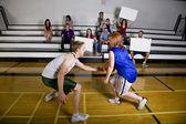 Basketbalspel — Stockfoto
