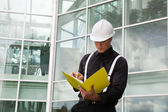 Foreman With File — Stock Photo