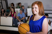 Female Basketball Player — Stock Photo