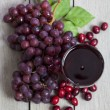 Cranberry Grape Juice - Stock Photo