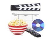 Film et pop-corn — Photo