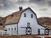 Echodale Barn — Stock Photo