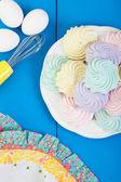 Meringue Cookies — Stock Photo