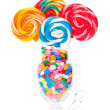 Stock Photo: Whirly Pop Bouquet