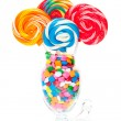 Whirly Pop Bouquet — Stock Photo