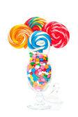 Bouquet pop verdettop — Foto Stock