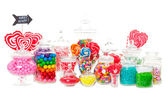 Buffet di caramelle — Foto Stock