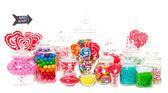 糖果自助餐 — 图库照片