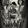 Stock Photo: Closet Skeletons