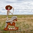 Stock Photo: Cowboy Skeleton